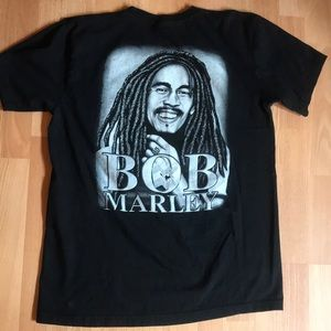 Shirts - VINTAGE BOB MARLEY GRAPHIC TEE